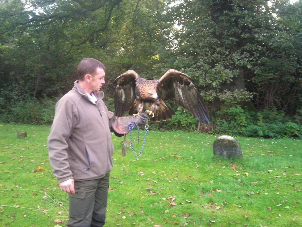 me and eagle